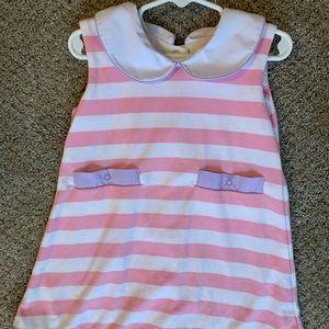 TBBC Luanne's Lunch Dress Sandpearl Pink Stripe